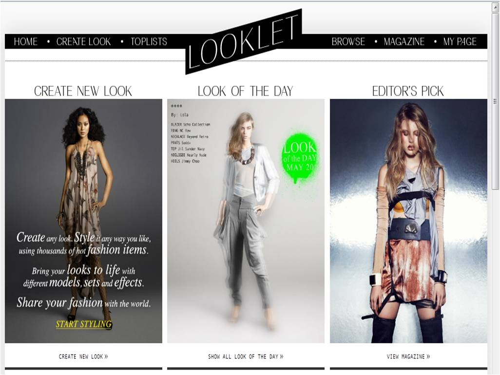 Virtual Fashion Styling Website The Fashion Game For Aspiring Fashion Stylists
